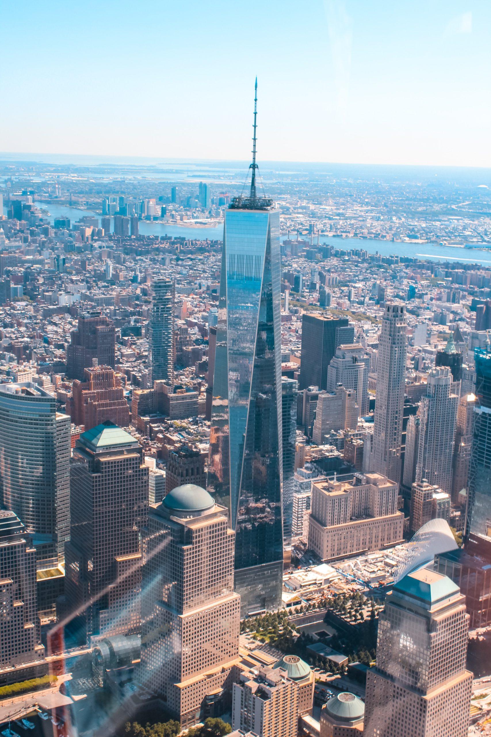 Nowy Jork, Wieża World trade center